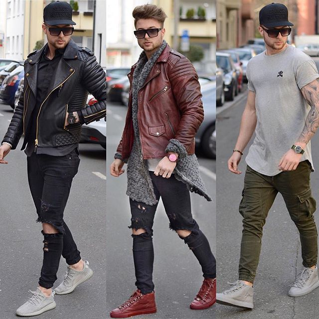 What is your Favorite Outfit? Black - Red - Grey? Please let me Know ⬇️ _________________________________ #viparo #bodaskins #yeezy #balenciaga