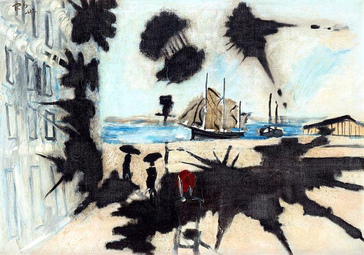 Ragnar Sandberg 1902-1972 By the Quay, Lilla Bommen