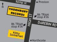 Thornbury Records, Melbourne's home of new vinyl records and turntable repair