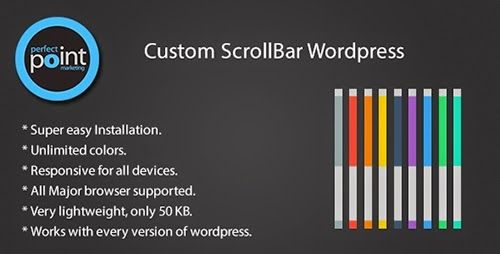 CodeCanyon - Custom scrollbar wordpress v1.3