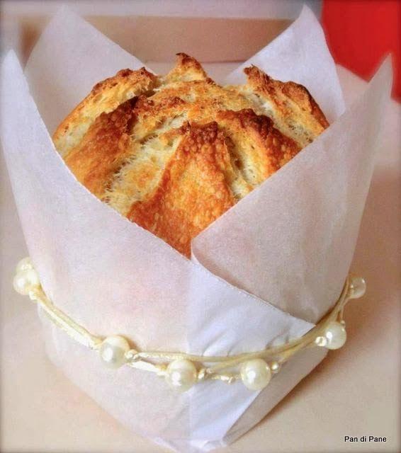 Pan di Pane: Ricetta per Panettone gastronomico semplicissimo, con Pasta Madre.