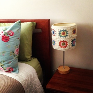 How to : Crochet Lampshade : belle cherie : #mycreativespace