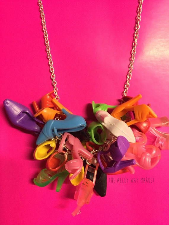 Doll Shoe Necklace Doll Shoe Jewelry Gifts For Girls Gifts