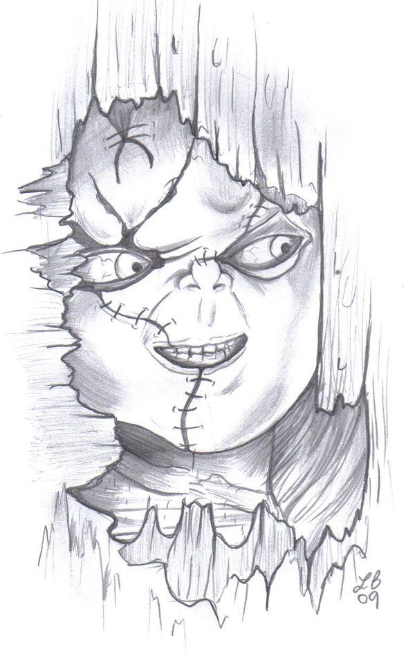 Chucky Drawings | Chucky by LBalch86