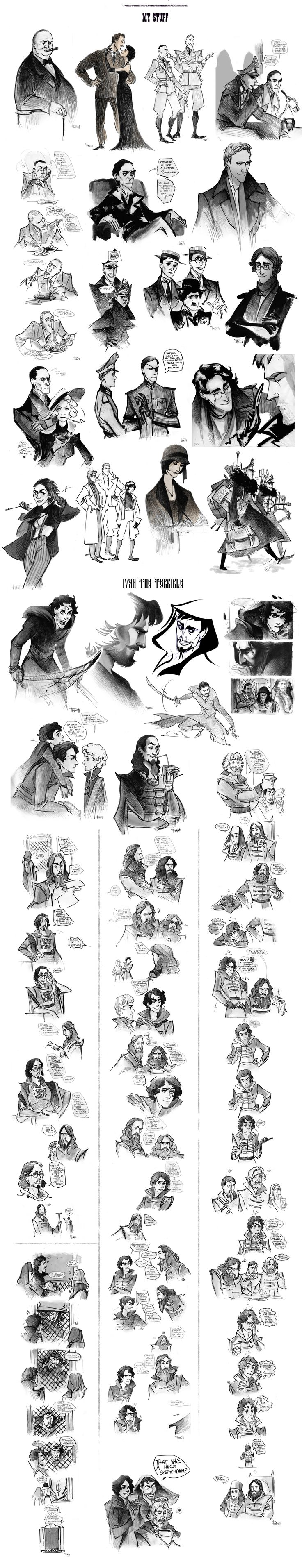 That's a sketchdump VII by Phobs.deviantart.com on @deviantART