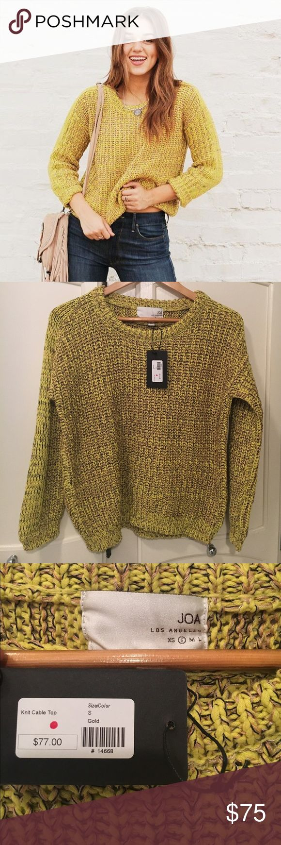 NWT Duck and Dressing Sweater New with tags. Perfect condition, heavier knit cable sweater. Duck and Dressing Sweaters Crew & Scoop Necks