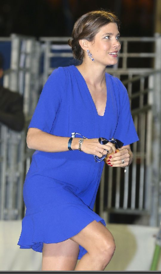 July 2013. Is Charlotte Casiraghi pregnant?????