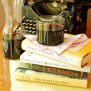 Dinner and a Book: Book Club Dinner Menu Ideas | MyRecipes.com.... good ideas for book club