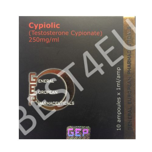 Buy Cypiolic (Testosterone Cypionate) 250mg/1ml. (10 amp.) GEP PHARMA