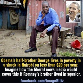 AM I MY BROTHERS KEEPER? Certainly not B. Obama. What an example he is with millions to earth and most of all his children