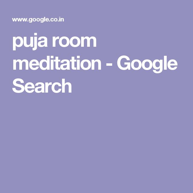puja room meditation - Google Search