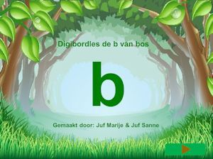 site van juf Sanne die heel veel digibordlessen heeft bij verschillende letters. grappig.