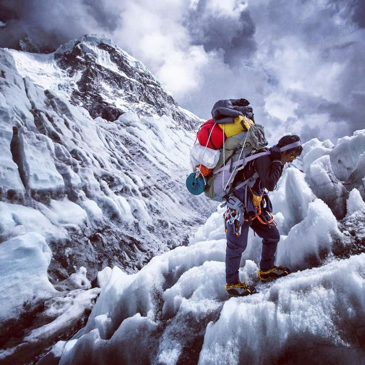 The Sherpas who work on Mount Everest are incredibly tough, brave people who need a fairer deal, and our help. This photograph by Aaron Huey, along with many others, is being offered for sale to benefit both the families of those lost in the April 2014 avalanche and the entire community. More here: http://sherpafund.bigcartel.com/products