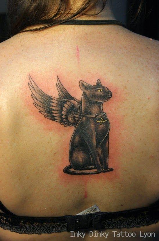 egyptian cat tattoo tatouage chat gyptien tatouage pinterest tatouages de chat chats et. Black Bedroom Furniture Sets. Home Design Ideas