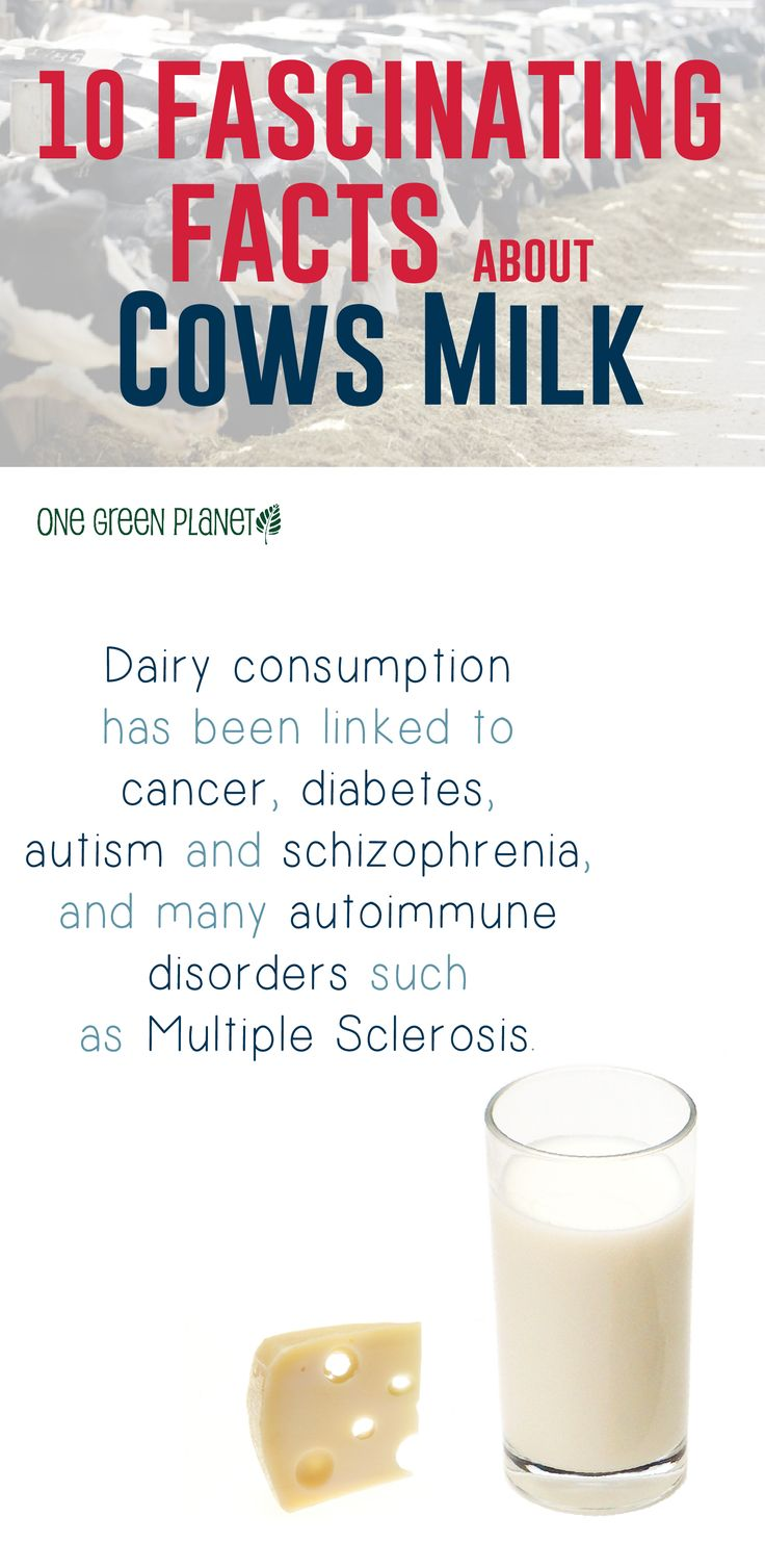 Dairy consumption has been linked to cancer, diabetes, autism & schizophrenia, and many autoimmune disorders such as Multiple Sclerosis