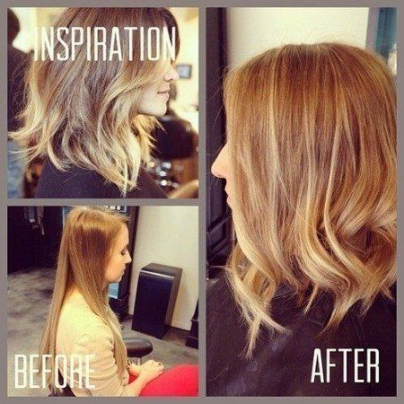 Makeover Long Angled Bob With Layers Hair Styling Pinterest Long Layered Inverted Bob Haircut