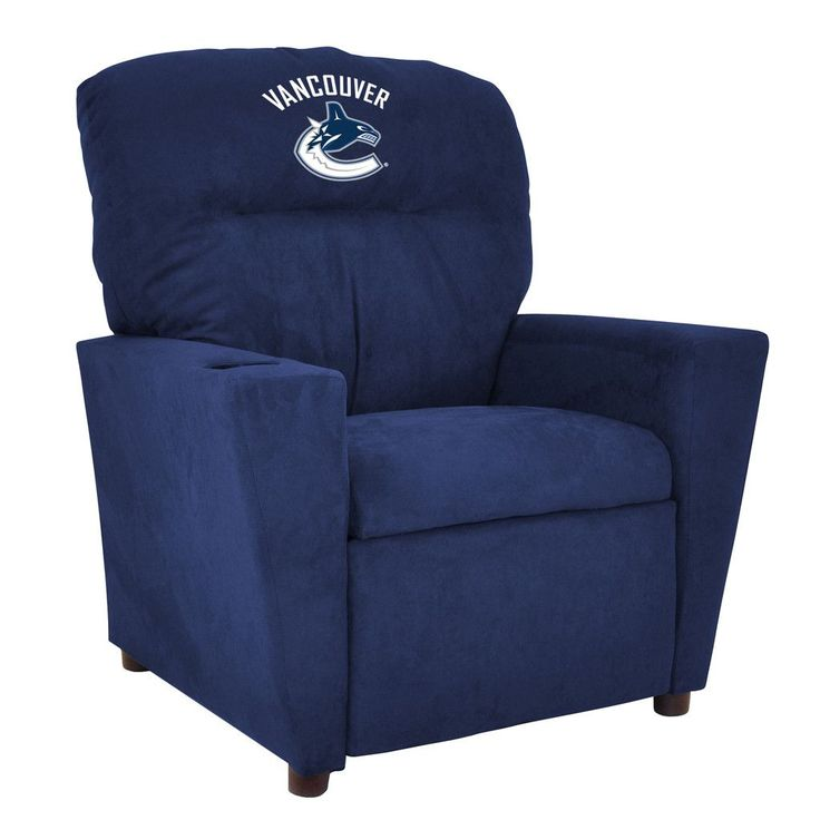 Vancouver Canucks Toddler Recliner w/ Cup Holder