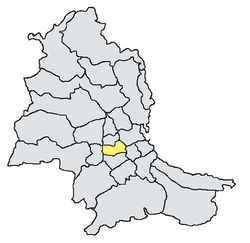 Mappa dei quartieri di