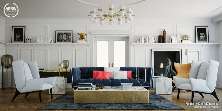 Old Fashion Living / Carlos Céspedes - Learn V-Ray