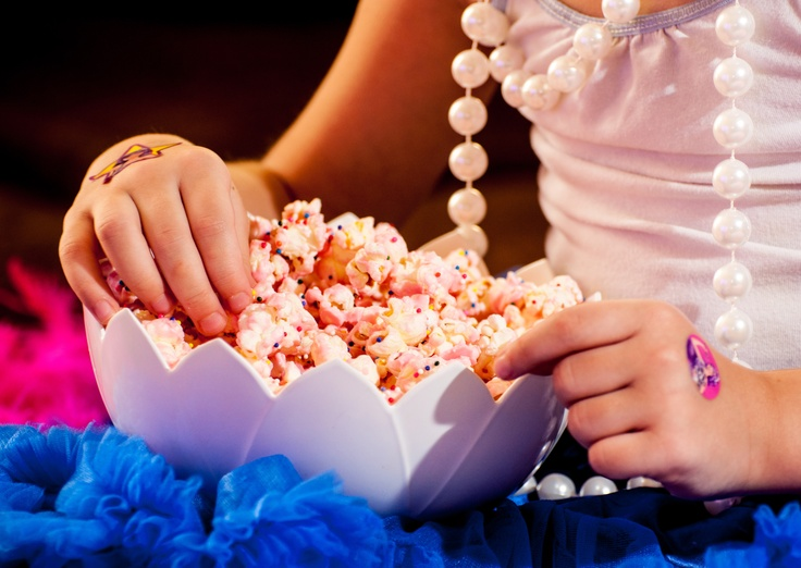 Barbie Party Pink Party Popcorn