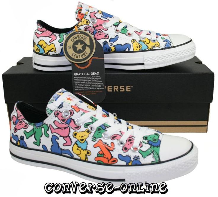 CONVERSE All Star® GRATEFUL DEAD BEARS Trainers SIZE 9. I've got to see if I can still get these