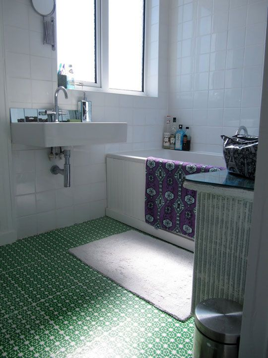17 best images about paint for bathroom floor on pinterest for Kitchen and bathroom lino