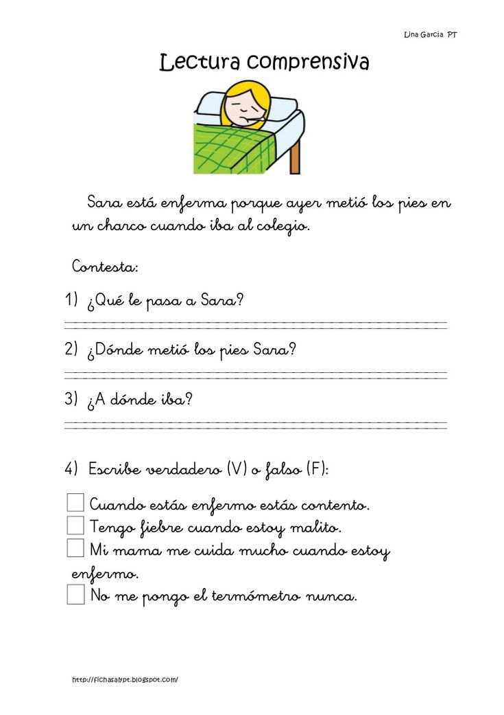 Lecturas comprensivas 11 15 by Natalia Garcia via slideshare