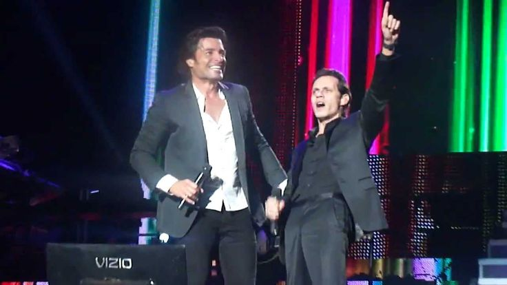 "MARC ANTHONY Y CHAYANNE ""DÍMELO"""