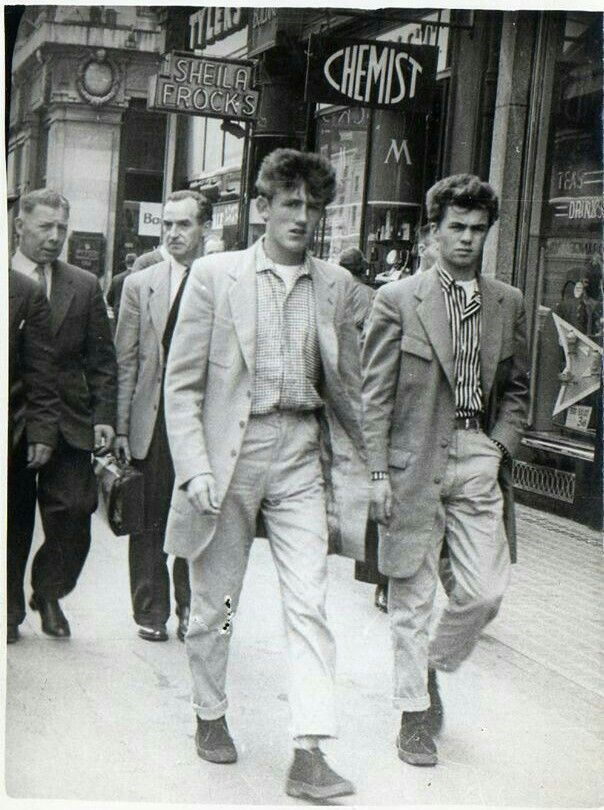 Dublin teddy boys 1957