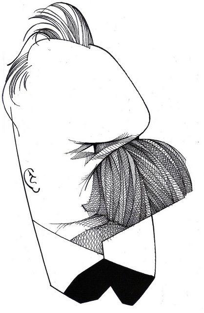 Nietzsche | by Camila Martins Saraiva