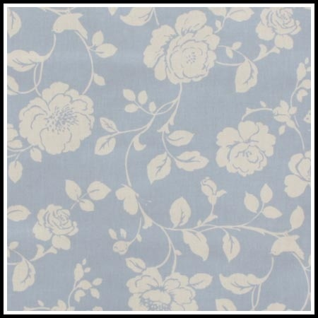 Oilcloth Patterns, Meadow Powder Blue, PC104