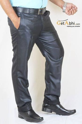 Show off a stylish Corporate look as you Wear this #formal #trouser from the shelter of Ray's. It features has a zip fly. For a unique Impression on your Co-workers wear this trouser with White Formal Shirt.