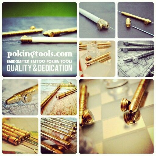 Available to order on pokingtools.com or Facebook.com/pokingtools #tattoo#tattoos#tattooed#tattooart#tattooartist#tattooartistmagazine#tattooaccessories#traditionaltattoo#traditionalart#inked#inkedup#ink#dotwork#dotdot#poking#handcrafted#brass#bodymodification#bone#art#artist#abstract#design