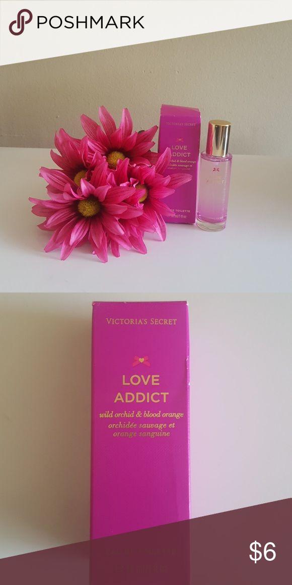 Victoria's Secret Love Addict New Victoria's Secret Love Addict Eau De Toilette 1 fl oz.  Wild orchid and blood orange. Victoria's Secret Makeup