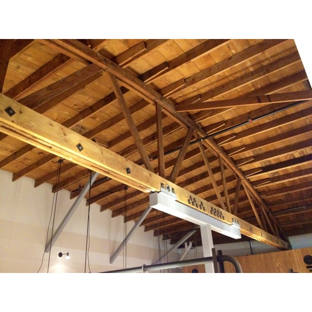 93 best bowstring truss roof images on pinterest for Wood roof trusses for sale