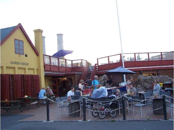 Delicious Restaurants in Gudhjem, Bornholm, Denmark