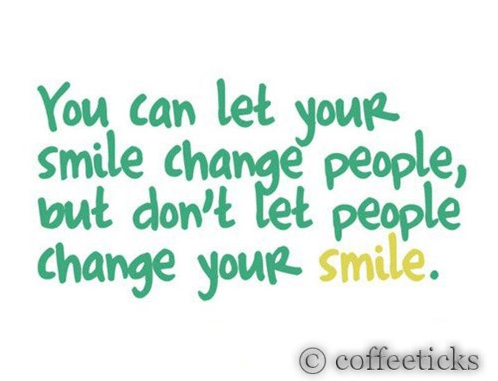 how to change my smile