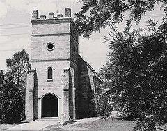 Saint James Church, Tank Street, Morpeth, N.S.W. (maitland.city library)
