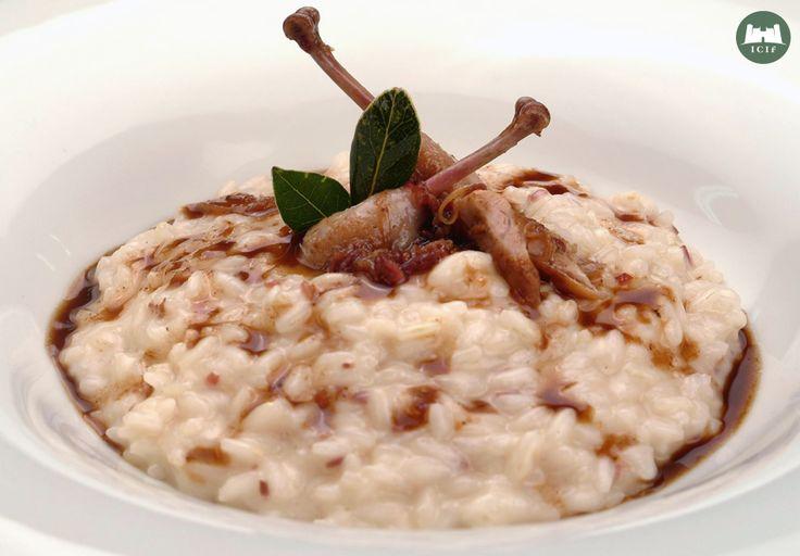 Quaglie con il risotto