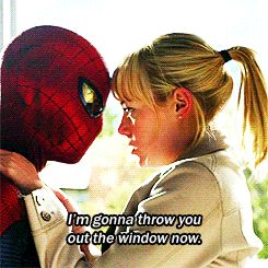 The Amazing Spider Man (2012)  Quote (About throw jump gifs funny fly)