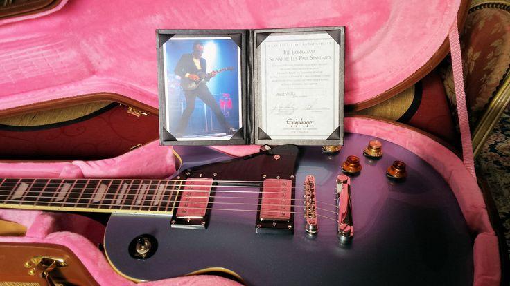 My New Epiphone Les Paul Bonamassa Signature Pelham Blue Lim.Ed. :-)
