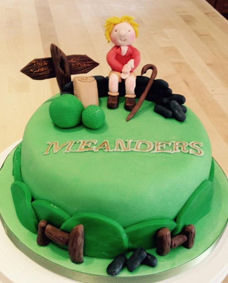 Hiking Cake: Yet Another Hiker Cake - Popular Theme!