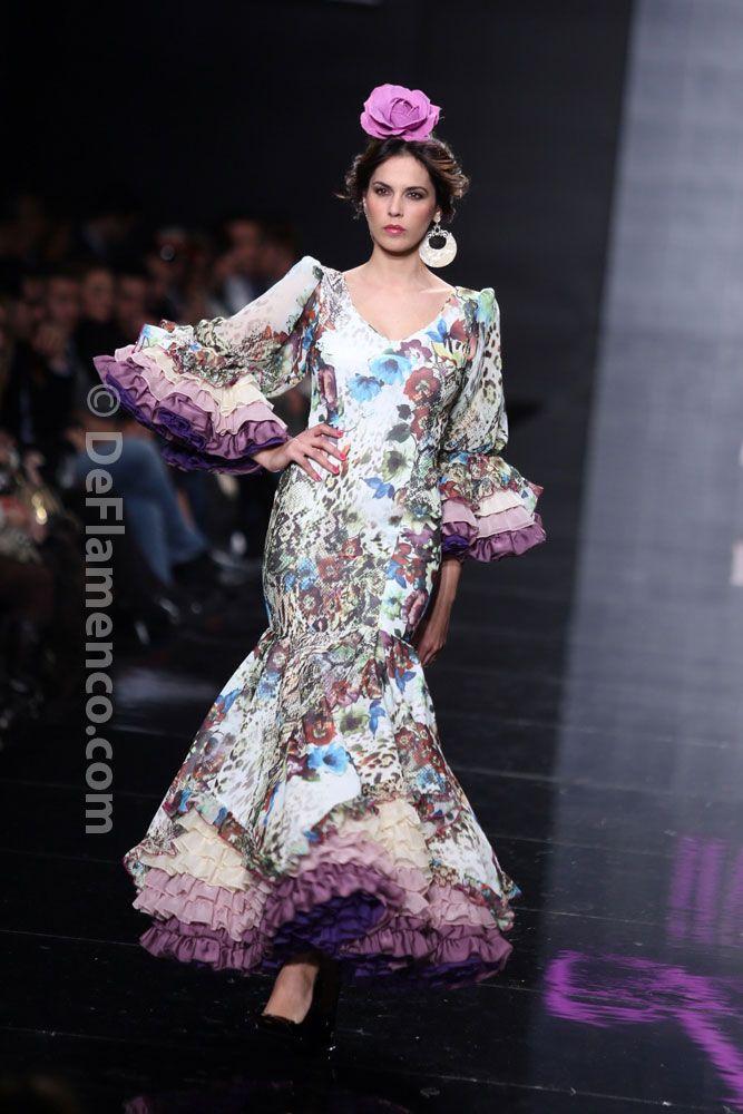 Fotografías Moda Flamenca - Simof 2014 - Lina 'La gata rosa' - Simof 2014 - Foto 10