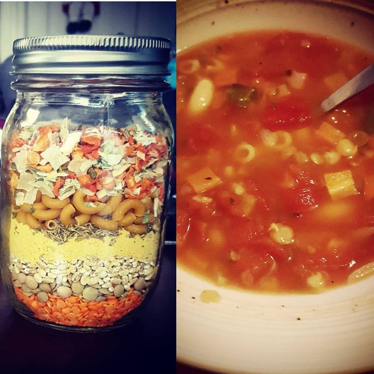 Soupe colorée en pot / Colorful Soup in jar !! :) #soup #soupe #colorful #colore #jar #pot