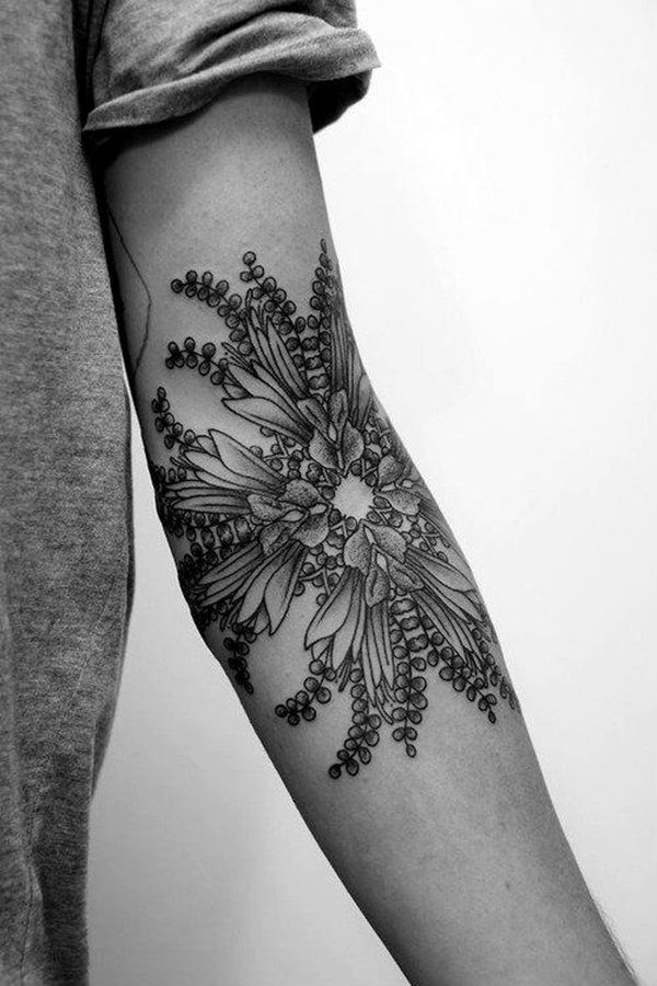 45 Adorable Black And Grey Tattoo Ideas For Girls