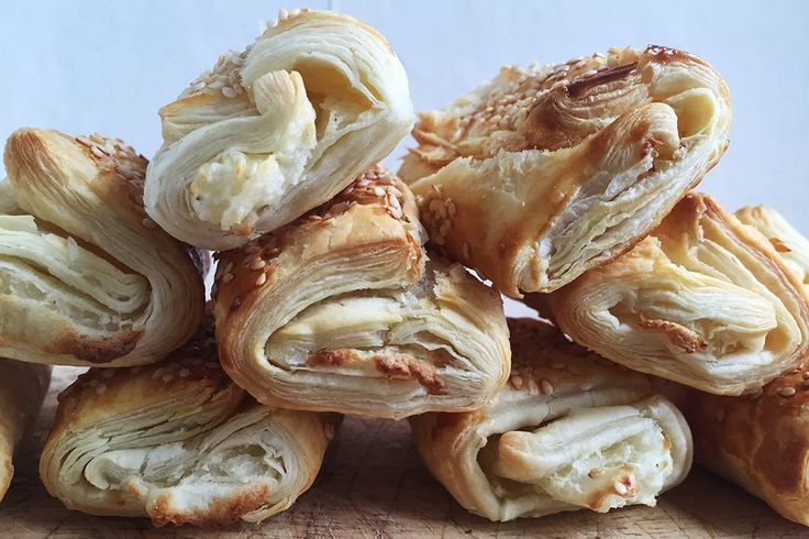 Delicious little savoury puffs of potato and pastry! A popular street food in Israel, these flaky bourekas are incredibly simple to make but packed full of flavour.