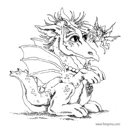165 Best Cute Dragons To Color Images On Pinterest