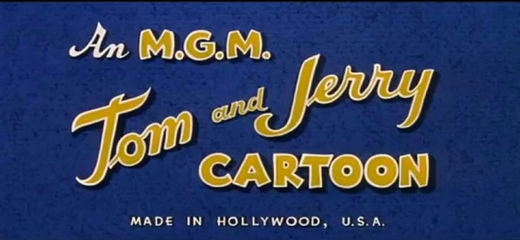 An MGM Tom and Jerry CARTOON