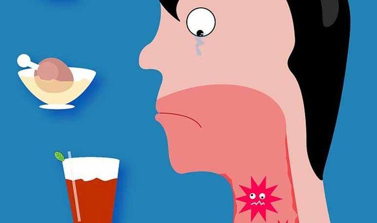 Desinfectar la garganta con bicarbonato
