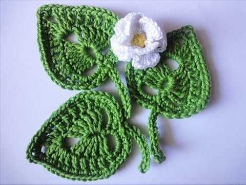 Get the more patterns at http://sheruknitting.com/ In this tutorial you will learn how to crochet a classic leaf with little chain spaces inside. This crochet leaf looks good by itself and can be a perfect addition to your project. It won`t take much of